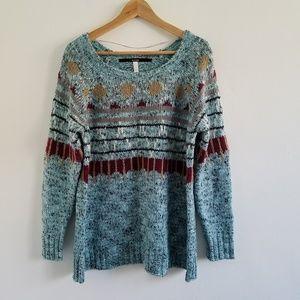 Kensie Chunky Knit Longsleeve Sweater Size L